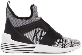 KENDALL + KYLIE 30mm Braydin Knit Sneakers