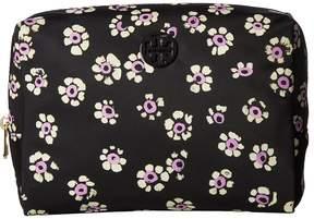 Tory Burch Printed Nylon Large Brigitte Cosmetic Case Cosmetic Case