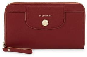 Longchamp Women's Zip-Around Wallet - DARK RED - STYLE