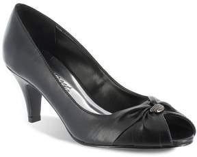 Easy Street Shoes Sunset Women's Peep-Toe Dress Heels