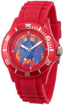 Marvel Guardian Of The Galaxy Mens Red Strap Watch-Wma000106
