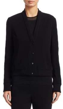 Akris Punto Snap Button-Front Cardigan