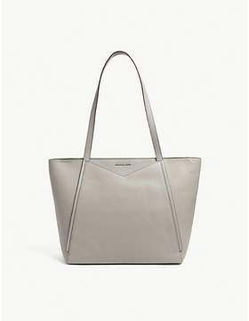 MICHAEL Michael Kors Whitney large grained leather tote