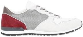 Tod's Mesh & Suede Running Sneakers