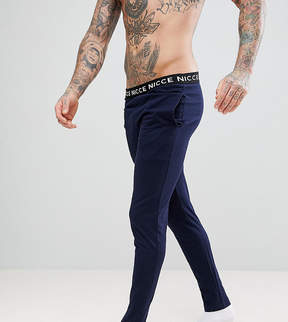 Nicce London lounge pants with waistband exclusive to asos