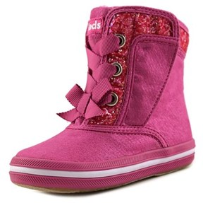 Keds Ke-maisie Boot Toddler Round Toe Synthetic Pink Winter Boot.