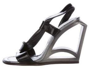 Marc Jacobs Patent Leather Slingback Sandals