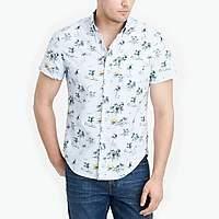 J.Crew Factory Short-sleeve printed shirt
