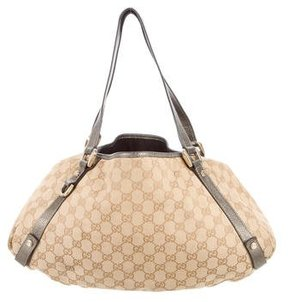 Gucci GG Abbey Convertible Hobo - BROWN - STYLE