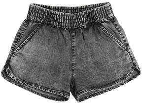 Finger In The Nose Bleached Chambray Shorts