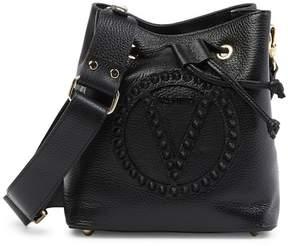 Mario Valentino Valentino By Leon Rock Studded Leather Bucket Bag