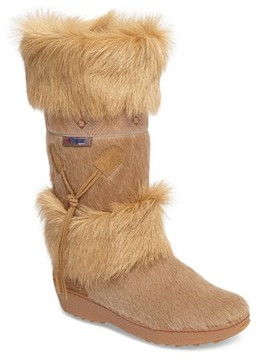 Pajar Women's Laura Genuine Goat Fur Waterproof Boot