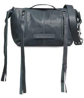 McQ Textured-Leather Shoulder Bag