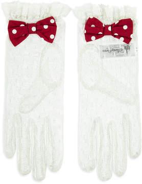 Disney Minnie Mouse Lace Gloves - Women
