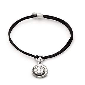Alex and Ani Soccer Pull Cord Bracelet