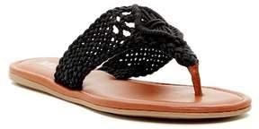 Mia Laila Macrame Thong Sandal