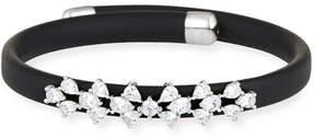 Fallon Monarch Leather Snap Bracelet