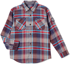 Buffalo David Bitton Red & Blue Plaid Collis Button-Up - Boys