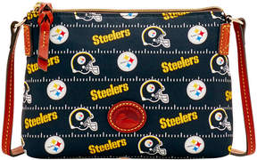 Dooney & Bourke Pittsburgh Steelers Nylon Crossbody Pouchette - BLACK - STYLE