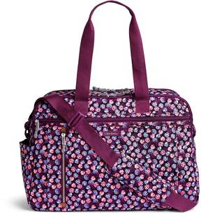 Vera Bradley Lighten Up Weekender Travel Bag - LOTUS CHEVRON - STYLE