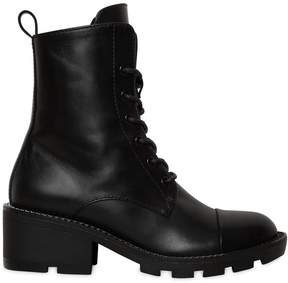 KENDALL + KYLIE 30mm Park Chained Leather Combat Boots