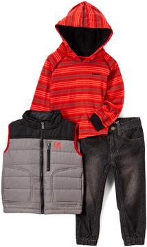 DKNY Caviar Vest Set - Toddler