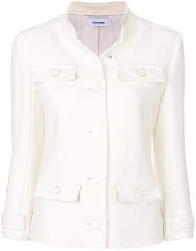 Courreges button-down fitted jacket