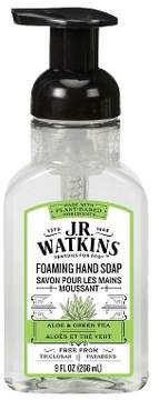 JR Watkins Aloe & Green Tea Scented Hand Soap 9 oz