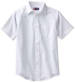 Chaps Boys 4-20 School Uniform Solid Oxford Button-Down Shirt