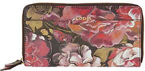 Lodis Italian Leather Zip Around RFID Wallet