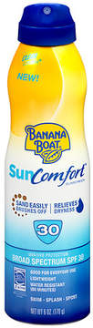 Banana Boat SunComfort Clear Spray Sunscreen, SPF 30