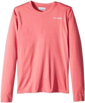 Columbia Kids PFG Zero Rules Long Sleeve Shirt Girl's Long Sleeve Pullover