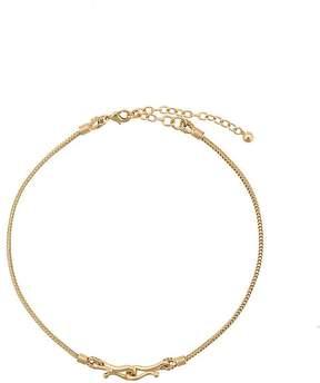 Eddie Borgo double hook necklace