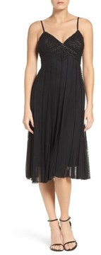 ECI Women's Beaded A-Line Dress