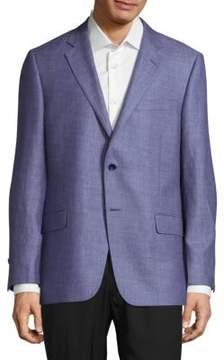 Hickey Freeman Milburn Notch Lapel Coat
