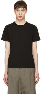 Rick Owens Black Short Level T-Shirt