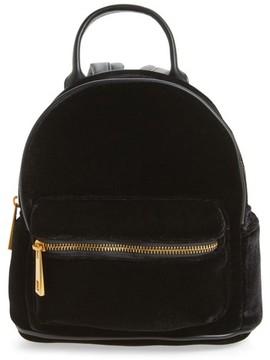 Street Level Velvet Backpack - Black