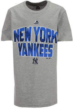 Majestic New York Yankees Big City T-Shirt, Big Boys (8-20)