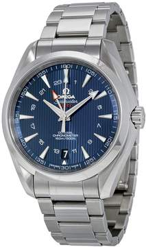 Omega Aqua Terra Blue Dial Stainless Steel Men's Watch 23110432203001