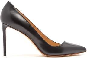 Francesco Russo Asymmetric leather pumps
