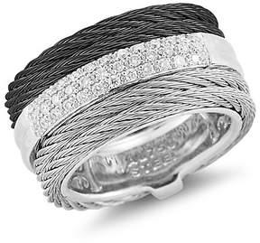 Alor Noir Diamond Ring