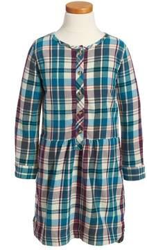 Tea Collection Applecross Plaid Flannel Shirtdress (Toddler Girls, Little Girls & Big Girls)