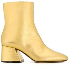 Maison Margiela flare heel ankle boots
