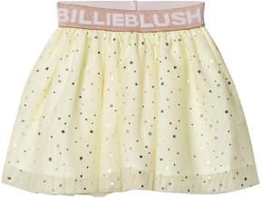 Billieblush Pale Yellow Branded Glitter Tutu Skirt