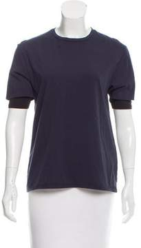 6397 Short Sleeve Crew Neck Top