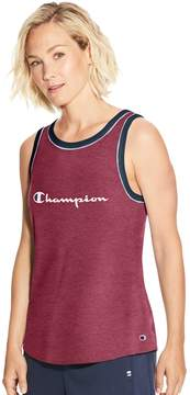 Champion Women's Heritage Ringer Brand Graphic Tank