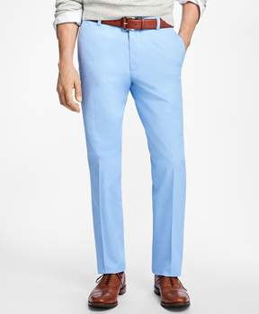 Brooks Brothers Milano Fit Supima Cotton Poplin Pants