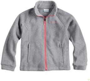 Columbia Toddler Girl Lightweight Three Lakes Fleece Jacket
