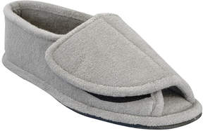 Muk Luks Mens Terry Open-Toe Slippers