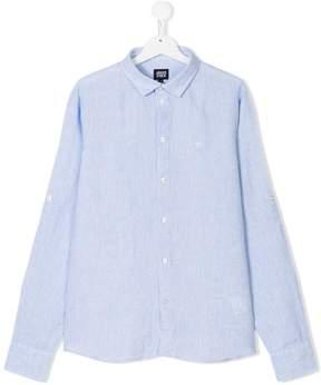 Emporio Armani Kids Teen classic collar shirt